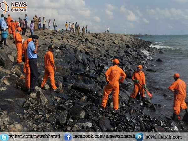 National Green Tribunal to hear plea today after Govt was asked to present facts on oil spill