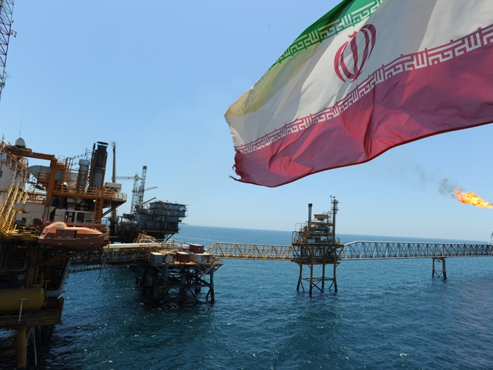 Iran confirms discovery of 15 billion barrels oil reserves at an offshore gas field in Gulf