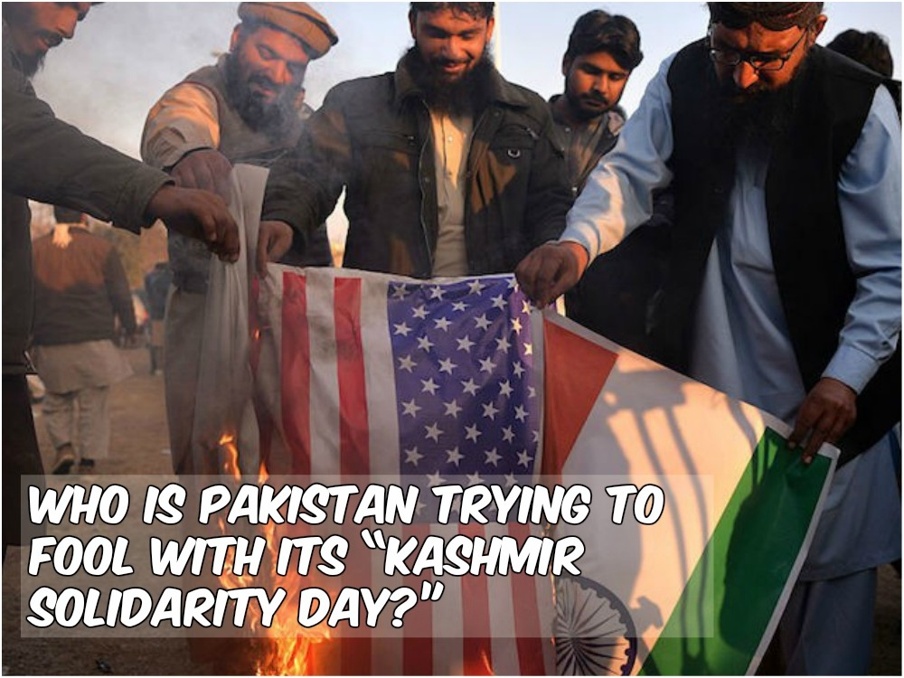 "Who is Pakistan trying to fool with its ""Kashmir Solidarity Day?"""