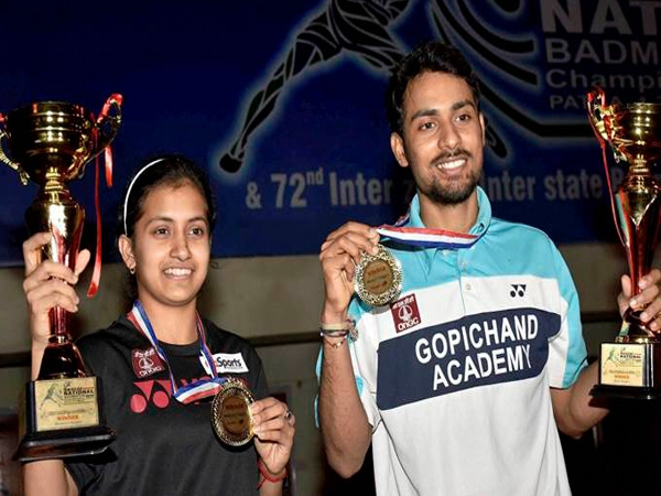 National Badminton Championship: Sourabh, Rituparna clinched Men's and women's singles title