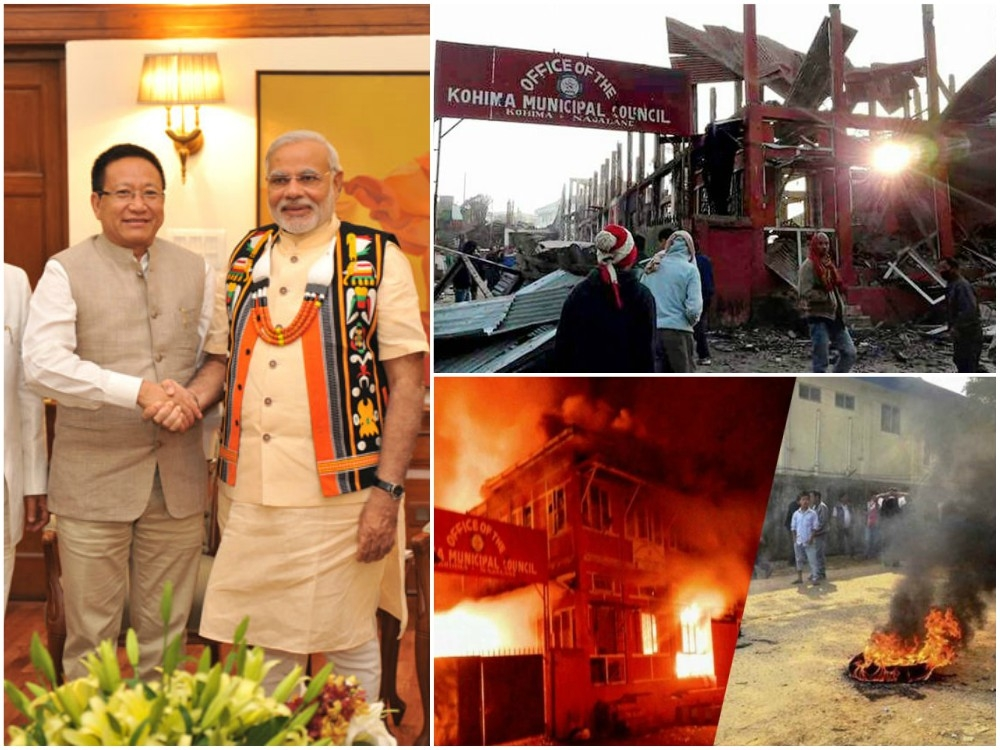 Nagaland in flames: Conspiracy to dethrone TR Zeliang