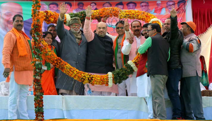 Vote out inefficient Congress for the bright future of  Uttarakhand : Amit Shah
