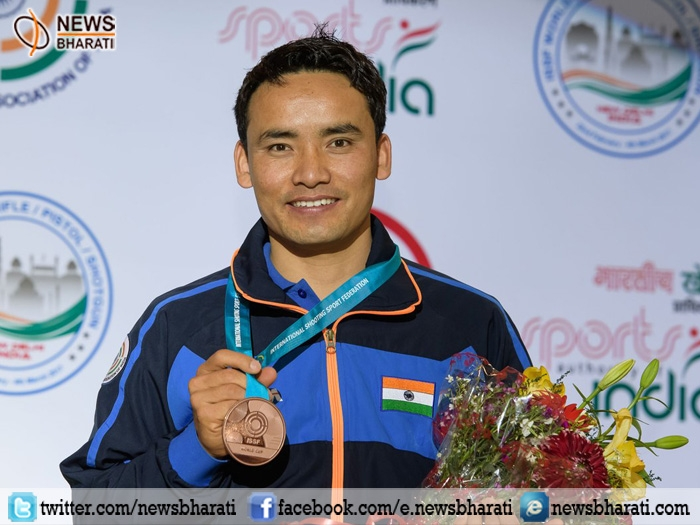 ISSF World Cup: Indian shooter Jitu Rai secures Bronze in 10-metre Air Pistol event