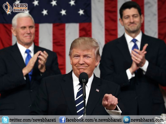 Prez Trump vows to make America great again; decries Kansas shooting that killed Indian techie