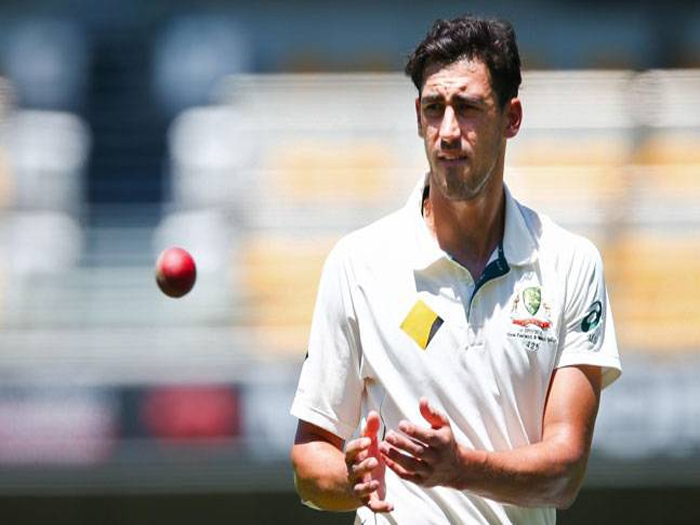 Injured Mitchell Starc ousted from remaining India tour