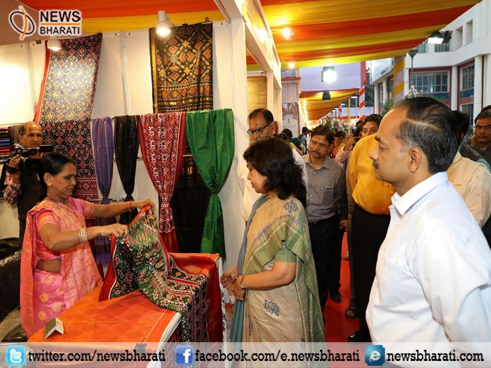 Exhibition of handmade products by woman artisans; opportunity to sell products directly to customers