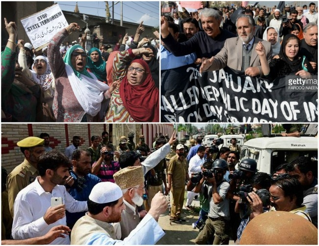 Protest calendars by Hurriyat are eliciting no response in Kashmir