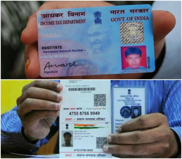 Income Tax Dept soon to issue Pan cards using Aadhar biometric on real time basis