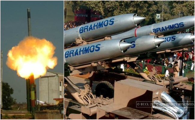 For the 1st time BrahMos supersonic cruise missile successfully test fired with high range in the world