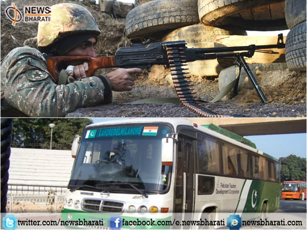 India suspends bus services to Pakistan after heavy border gunfire in Poonch sector