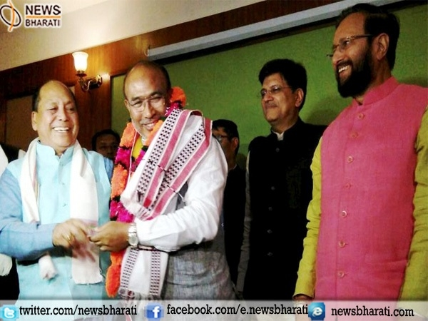 Former Football player and BJP leader Biren Singh set to become Chief Minister of Manipur