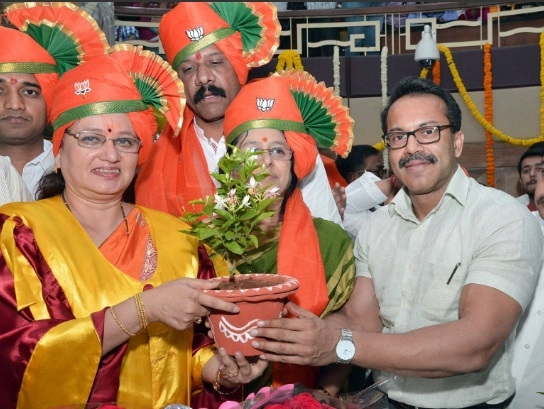 BJP's Mukta Tilak becomes the  56th Mayor of Pune