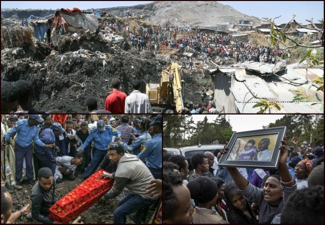 130 dead, several still missing under Koshe landslide in Ethiopia; Rescue operations underway