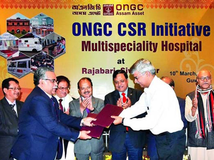 ONGC inks MoU with RSS-inspired BAVP to build 300-bed hospital in Assam