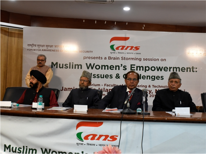 Speakers plead for equal rights to Muslim women at FANS seminar