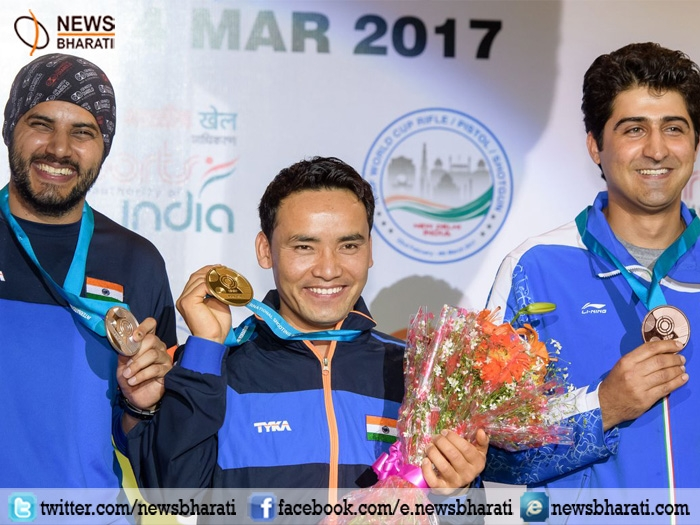 Dream come true for Jitu Rai; Secures Gold medal in 50-metre Air Pistol event