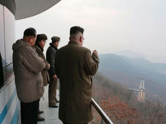 North Korea test fires missile engine