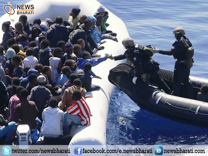 Italian coastguard rescues over 3000 migrants crossing Mediterranean Sea to Europe
