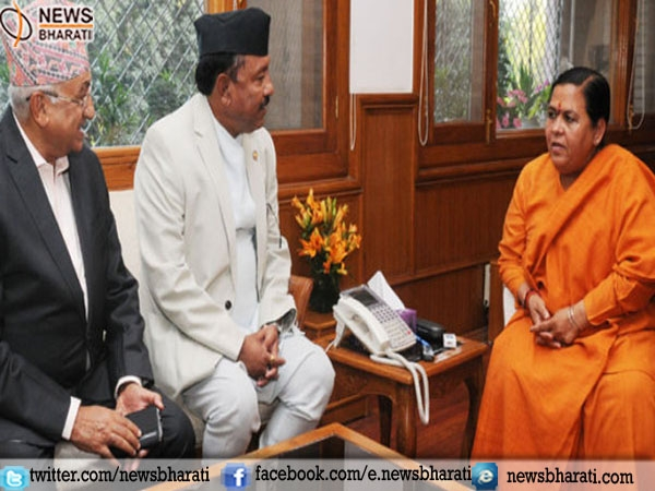 River has an important role in strengthening ties with Nepal: Uma Bharti