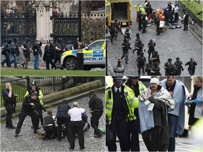 World leaders including PM Modi condemned British Parliament attack; 5 killed and 40 injured