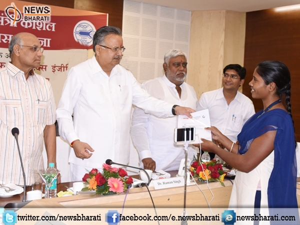 Chhattisgarh: 508 youth hired by national level companies trained under 'Skills Development Project'