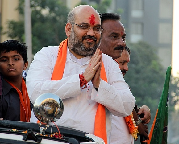 BJP Chief  Amit Shah to visit his home state on March 29