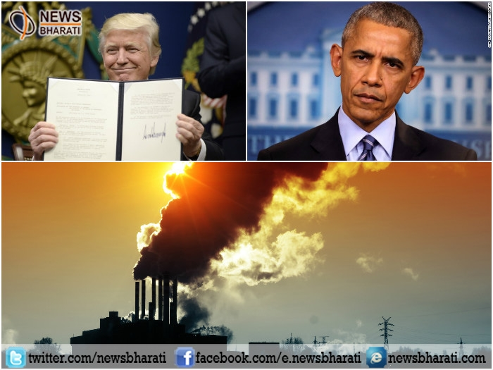 Prez Trump signs executive order to scrap Obama's climate change regulations; to create more jobs