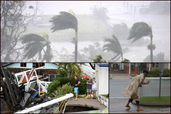 Cyclone 'Debbie' hits Northeast Australia led to power cut-offs in 65,000 houses