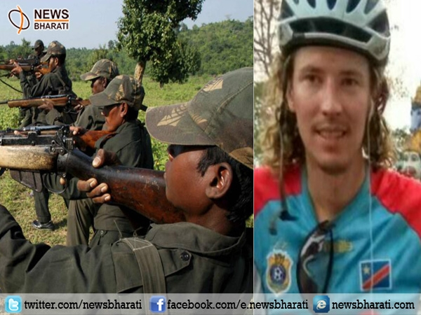Canadian cyclist held by Naxals is safe in Bastar