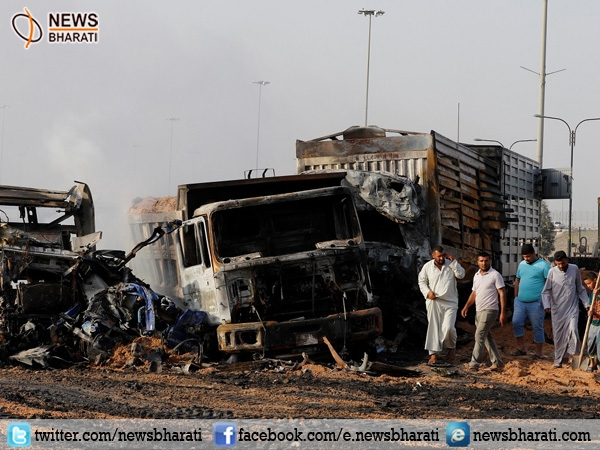 At least 17 killed, 60 injured in the Suicide Truck Bomb in Baghdad