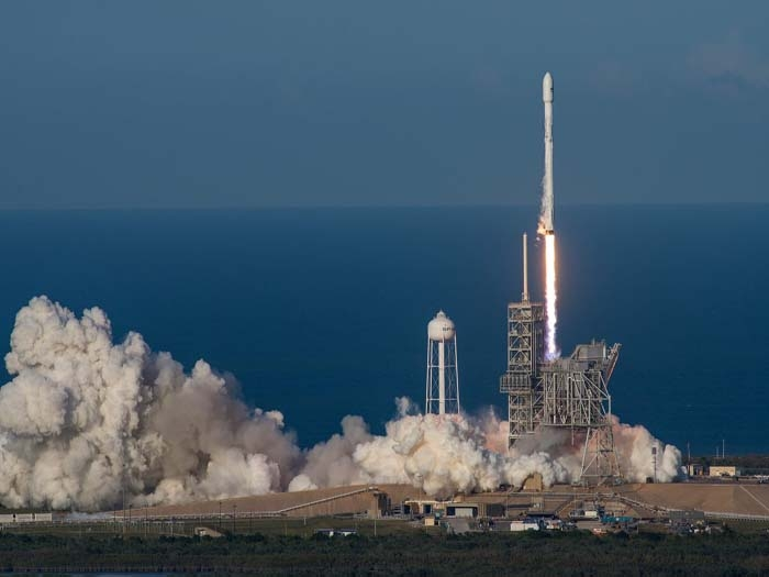 SpaceX creates history by launching Falcon 9 rocket into space for second time