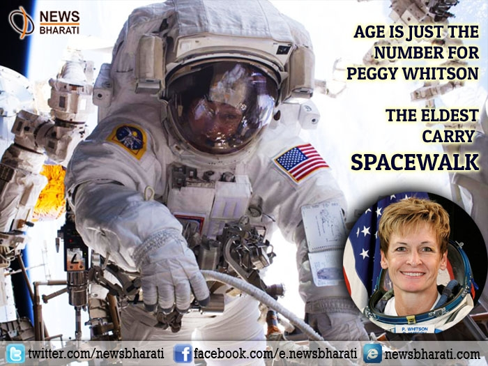 Age is just the number for Peggy Whitson; the eldest woman to carry spacewalk