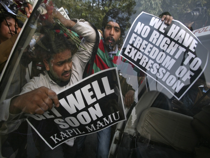 India into the ferocious jaws of 'freedom of expression'