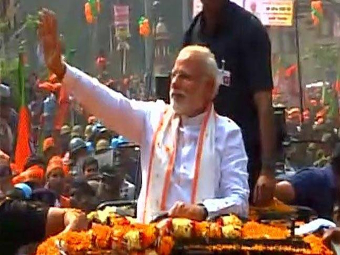 Impressive road show by Modi enhances BJP poll prospects in UP
