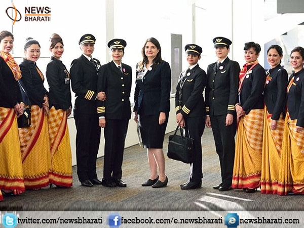 Air India sets world record by flying around the world with all-women crew