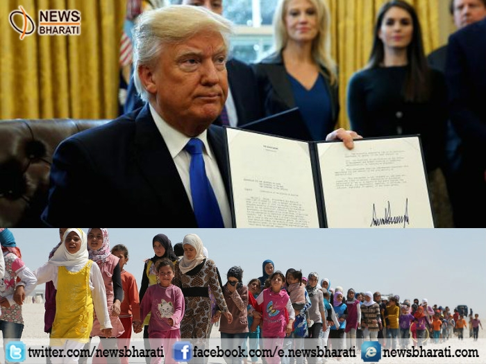 Trump signs new executive order, bars travelers from six Muslim-majority countries; exempts Iraq