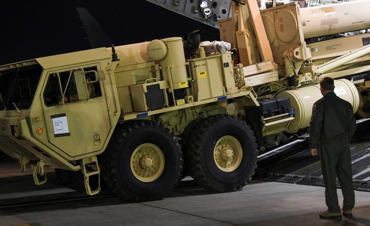 USA begin deploying anti-missile system in South Korea