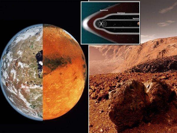 Colonization of Mars soon if NASA's launching a giant magnetic field becomes a success