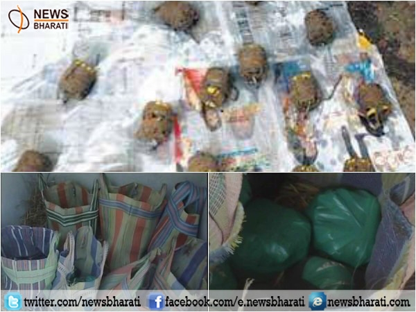West Bengal police recovers over 100 crude bombs from the house in Malda