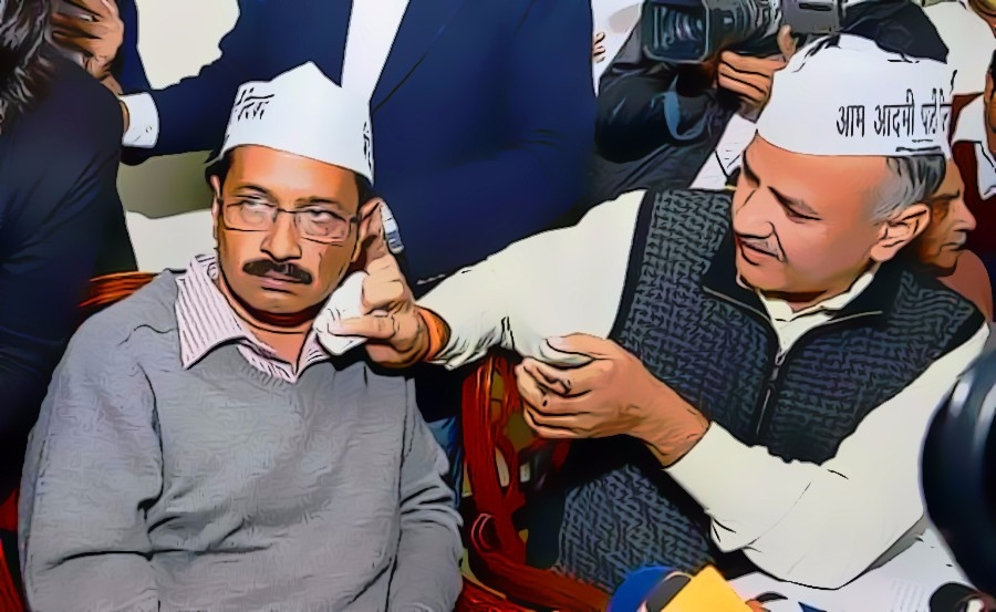 Goebbels Law : By blaming the EC as an agent of BJP, Kejriwal shows how filthy is his morality
