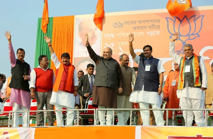 BJP chief Amit Shah to visit Siliguri on April 25