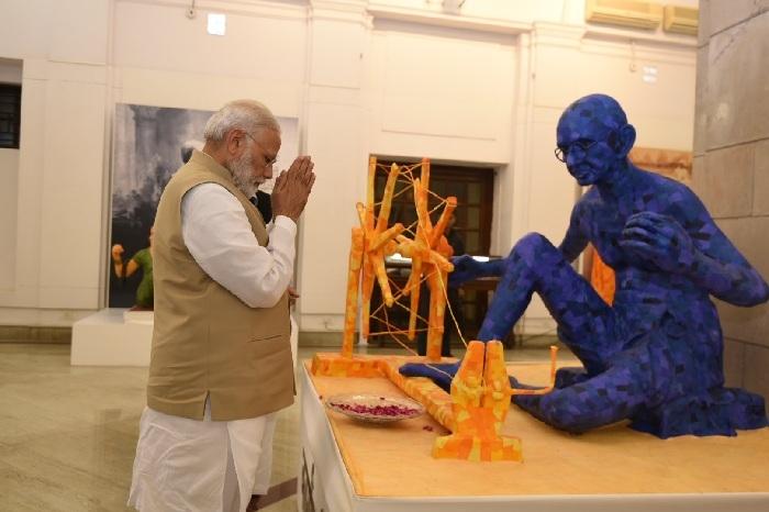 Champaran Satyagraha transformed Mohandas Gandhi into 'Mahatama': PM Narendra Modi