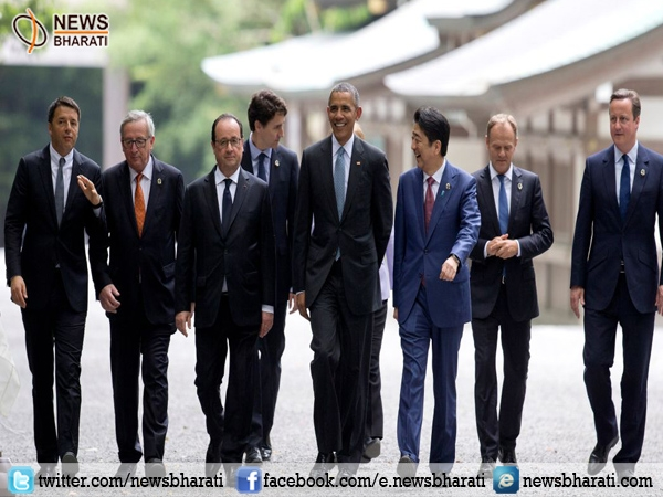 G7 foreign ministers come together for meeting in Italy