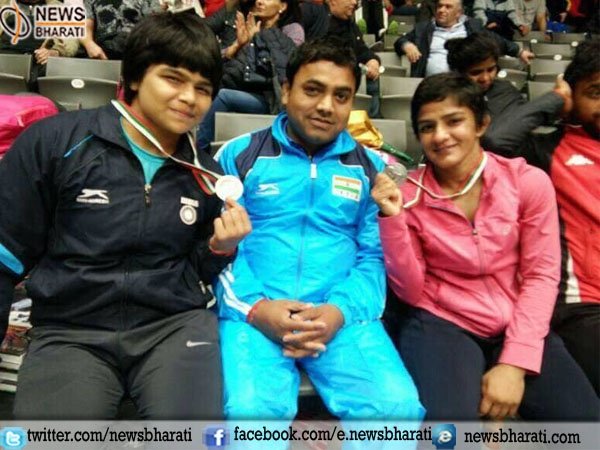 Hurray! India won 3 medals in Dan Kolov International Wrestling tournament