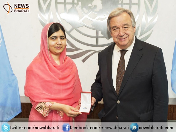 Malala Yousafzai becomes youngest-ever 'UN Messenger of Peace' to promote girls education