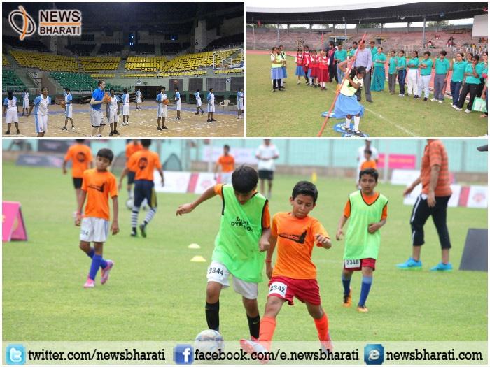 Five stadia of Delhi utilized to conduct National, International sports events: Vijay Goel