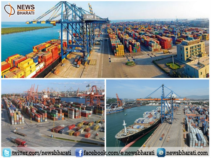 Acche din! Major boost in economy of Indian ports; registers annual growth rate of 6.79%