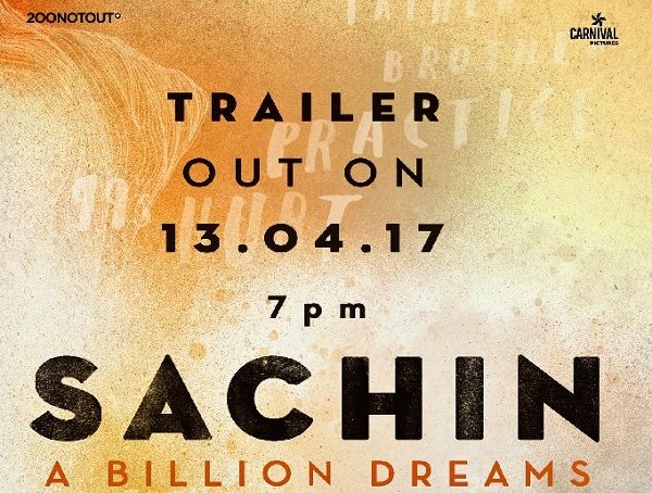 Official trailer of Sachin's mega biopic to be released on April 13