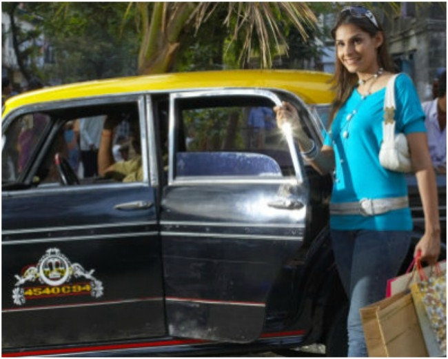 Yuppie, now women can travel safely in cabs