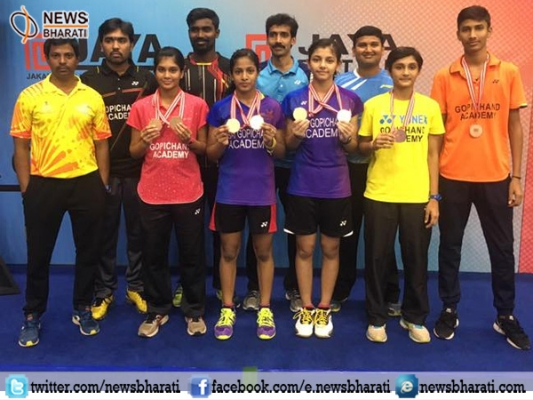 Gayatri Pullela bags twin crown at Jaya Raya Junior Grand Prix